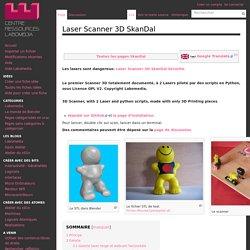 Laser Scanner 3D SkanDal — Centre de Ressources Numériques - Labomedia