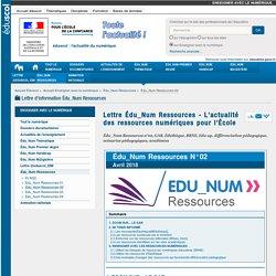 Édu_Num Ressources