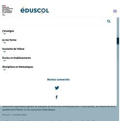 Ressources numériques éducatives