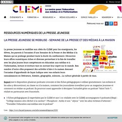 Ressources numériques de la presse jeunesse- CLEMI