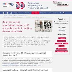 Des ressources numériques pour le 11 novembre et la Première Guerre mondiale