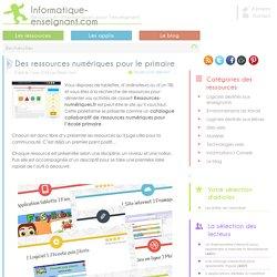Ressources numériques pour le primaire