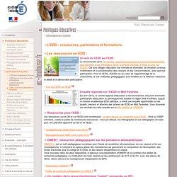 L'EDD : ressources, partenaires et formations.