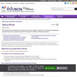 Actions éducatives - Slam-à-l'École
