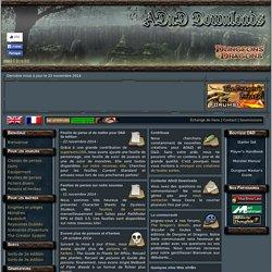 Ressources pour Donjons et dragons et Pathfinder