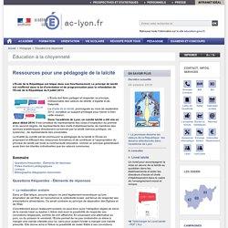 Ressources pour une pédagogie de la laïcité - Académie de Lyon