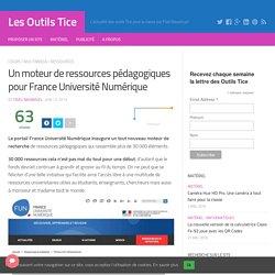 Un moteur de ressources pédagogiques pour France Université Numérique