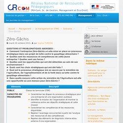 Zéro-Gâchis - Réseau National de Ressources Pédagogiques