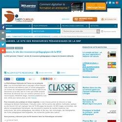 Classes, le site des ressources pédagogiques de la BNF