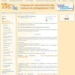 Tice 74 - Site des ressources pédagogiques TICE - Dossier TICE et Handicap