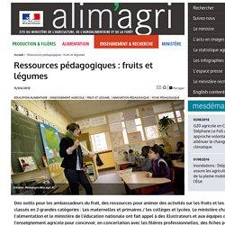 Ressources pédagogiques : fruits et légumes