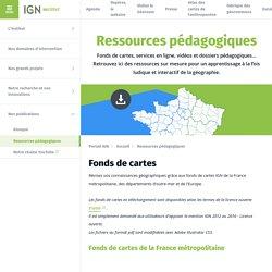 Ressources pédagogiques - Institut - IGN