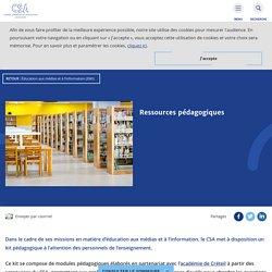 CSA - Ressources pédagogiques EMI