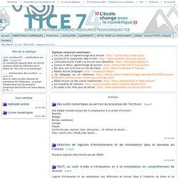 Tice 74 - Site des ressources pédagogiques TICE - Langage écrit et oral