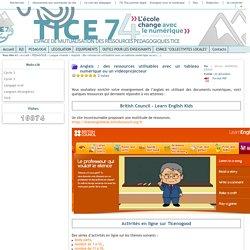 Tice 74 - Site des ressources pédagogiques TICE - TNI et Anglais