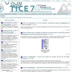 Tice 74 - Site des ressources pédagogiques TICE - Scénarios Haut-Savoyards
