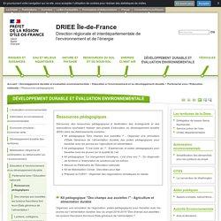 Ressources pédagogiques - DRIEE Île-de-France
