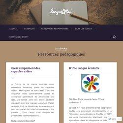 Ressources pédagogiques – Lingu@tic'