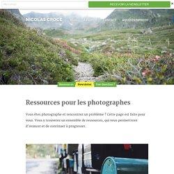 Ressources pour les photographes