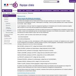 Ressources — Physique Chimie académie de Lille