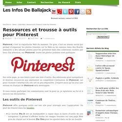 Ressources et trousse à outils pour Pinterest