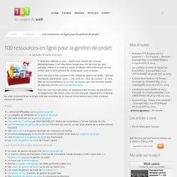 100 ressources en ligne pour la gestion de projet