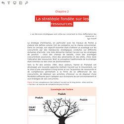 Lire en ligne L'essentiel de la stratégie - Chapitre 2 - La stratégie fondée sur les ressources
