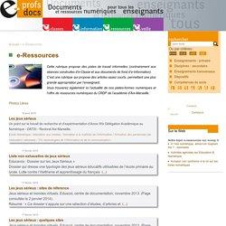 e-Ressources