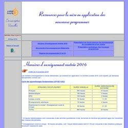 ressources programmes