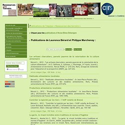 [RESSOURCES DES TERROIRS] Publications