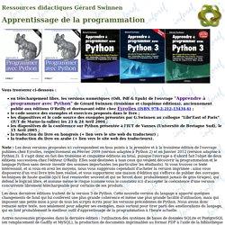 Ressources Python
