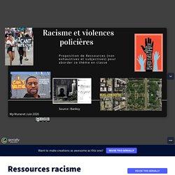 Ressources : racisme et violences policières
