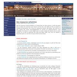 Des ressources rafraîchies - [Fremdsprachenwebseite - Akademie von Toulouse]