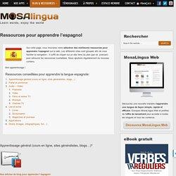Ressources pour apprendre l'espagnol - Apps pour apprendre rapidement l'anglais, l'espagnol, l'italien, l'allemand et le portugais sur iPhone, iPad, Android