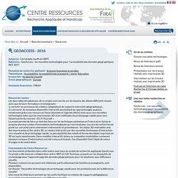Notice - Geoaccess - Centre Ressources : recherches sur le handicap