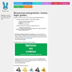 Ressources web gratuites : Icones rss, logos 2.0, guide référencement...