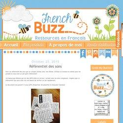 French Buzz - ressources en français: Référentiel des sons