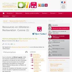 Ressources en Hôtellerie - Restauration. Cuisine (1)