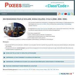 Des ressources pour le scolaire, niveau collège, cycle 4 (5ème, 4ème, 3ème).