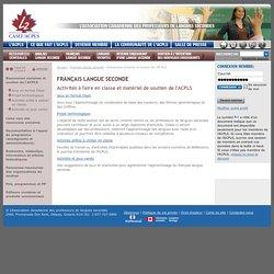 Ressources scolaires et soutien de l'ACPLS