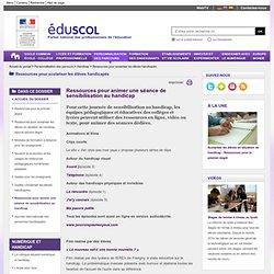 Ressources pour scolariser les élèves handicapés - Ressources pour la journée internationale des personnes handicapées