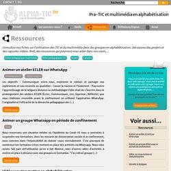 Ressources - Site de Alpha Tic
