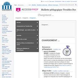 Troubles Dys Ressources supplementaires — Wikiversité