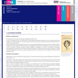Ressources - Dossiers Magritte - 10 thèmes - La révolution surréaliste - EXTRA-EDU, le site d'EDUCATEAM - Service éducatif - Musées royaux des Beaux-Arts de Belgique