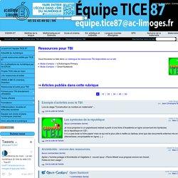 Ressources pour TBI