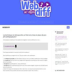 Ressources techniques – WebDiff