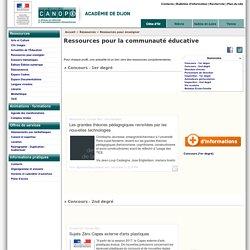 CANOPÉ Académie de Dijon - Ressources pour la communauté éducative