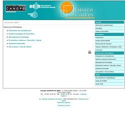 Ressources thématiques - CRDP de l'académie de Dijon