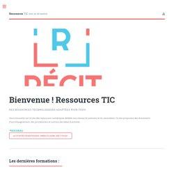 Ressources TIC