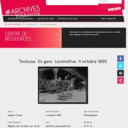 Centre de ressources - Toulouse archives